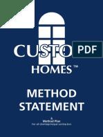 7732 Method Statement i v01