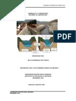 Informes Laboratorio Hidrualica II Kelly Rodriguez Cod 7300113