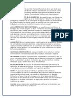 glosario acido desixerribunocleico