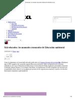Manuales Censurados de Educación Ambiental