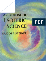 Rudolf Steiner - An Outline of Esoteric Science - English