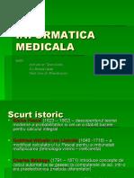 INFORMATICA MEDICALA CURS1