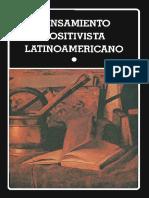 PEnsamiento positivista latinoamericano tomo 1 de Leopoldo Zea
