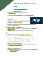8. Biochem - Straight Up Uw Aswers - Part 1