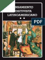 pensamiento positivista latinoamericano tomo 2 de leopoldo zea