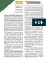 Real Decreto 1892/2008 Selectividad España