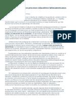 Freire y Vigostky en Los Procesos Educativos Latinoamericanos