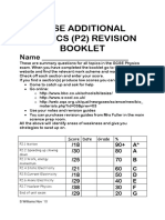 aqa p2 revision booklet