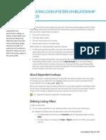 Salesforce Filtered Lookups Cheatsheet