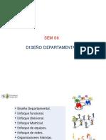 Diseño Departamental