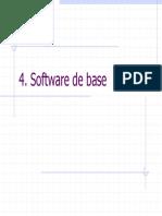 Software de base