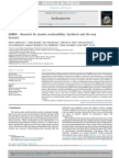 IMBER – Research for Marine Sustainability_Synthesis and the Way Forward