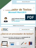 Practica introducción Word 2013