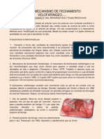 Fala e Mecanismo de Fechamento Velofaringeo