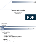 System Security Introduction