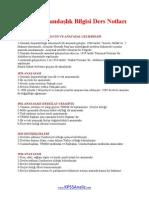 KPSS Vatandaşlık Ders Notları