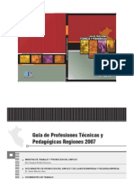 Guia Profesiones 2007