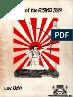 Land of the Rising Sun RPG Corebook