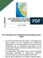 LEY ORGÁNICA DE GOBIERNOS REGIONALES DEL PERÚ.pptx