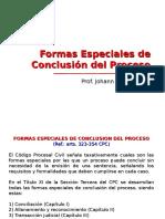 4) Formas Especiales de Conclusión Del Proceso - DPC II (2016-I)