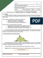 Capitulo 01 - Mineracao - Razoes Trigonometricas No Triangulo Retangulo