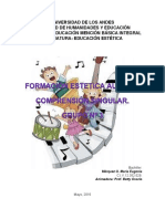 Trabajo Formación Estética Auditiva Comprensión Singular Grupo 3