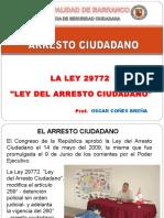 Arresto Ciudadano en Ppt