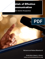 Effective Communication for Muslims - Chapter 1 and 2 (Other Chapters Will Be Uploaded Soon IA)
