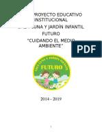 Proyecto Educativo Jardín Futuro 2015