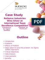 Case Study Reliance