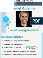 Inteligencia Emocional Goleman