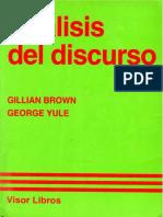 TEXTO 2-Brown y Yule-Análisis del discurso-1993.pdf