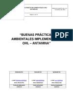 Buenas Prácticas Ambientales Implementadas de Ohl-Antamina