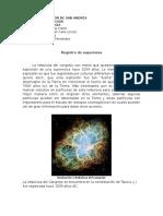 Registro de Supernova