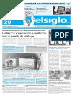 Edición Impresa El Siglo 29-05-2016