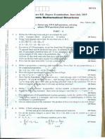 DMS 2015 question paper