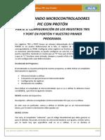 Parte 3 - Configuración de Los Registros Tris y Port en Portón y Nuestro Primer Programa