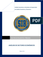 Estudio Del Sector Alimentos y Bebidas, Referido a 2012-03