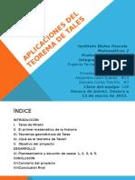 Aplicaciones del teorema de thales.pptx
