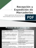 Recepción y Expedición de Marcaderias