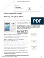 Samsung Galaxy Core I8260a _ Resetear Android