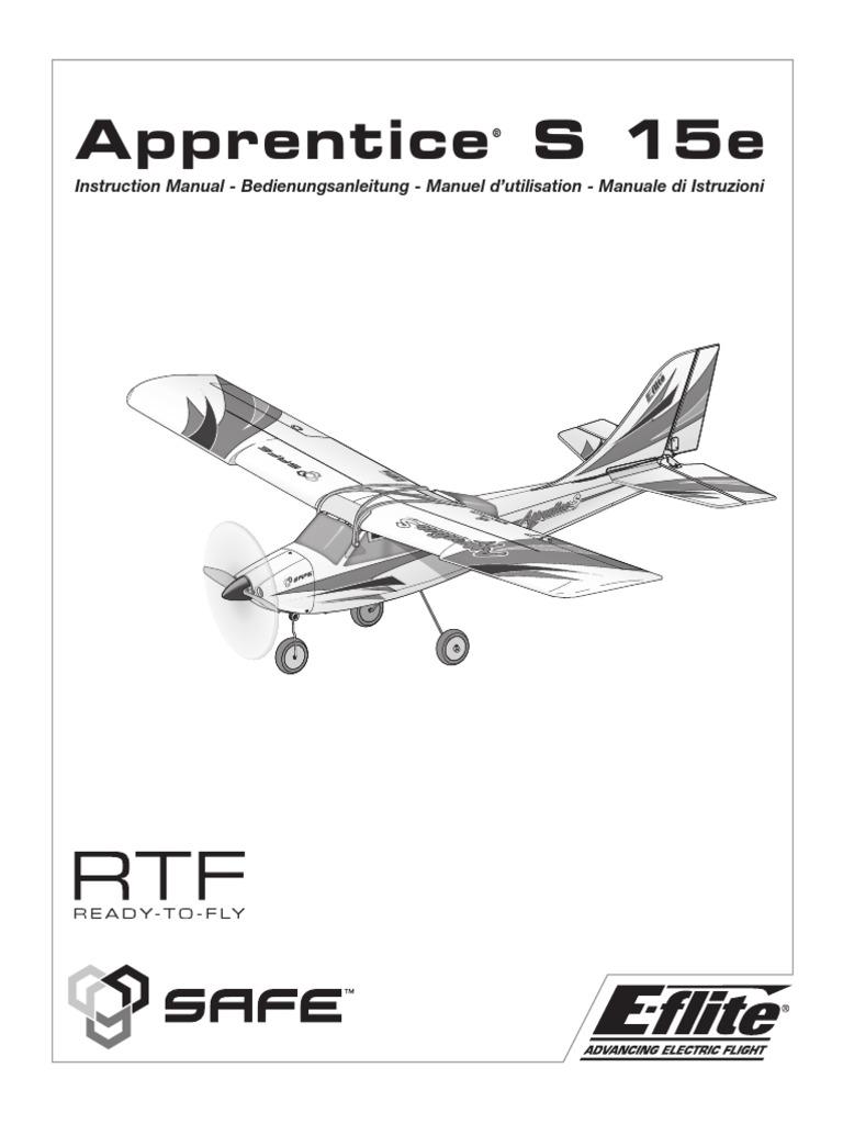 EFL310002 Rumpf E-flite Apprentice S