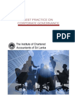 Code of Best Practice on Corporate Governance Sri Lanka