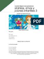 Retahilas Rimas y Canciones 3