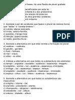 04a Substantivo Flexão Exercícios Completos