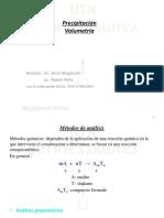 9-PRECIPITACION-VOLUMETRIA
