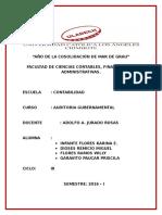 Auditores Y Consultores Asociados (4) AUDITORIA GUBERNAMENTAL