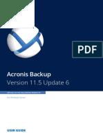 AcronisBackupWS 11.5 Userguide en-EU