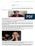 5 Coisas Para NÃO Fazer Na Hora de Discutir Política Com Alguém_Daniel Murata