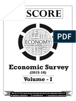 Economic Survey 2015 16 Volume 1 Summary